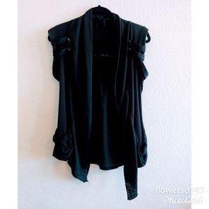 Torrid Sleeveless Cardigan Size 0